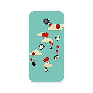Ebby Flying Dolphins Premium Printed Case For Moto G2