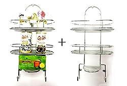 Set of 2 Sterling Kitchen/Bathroom Shelf