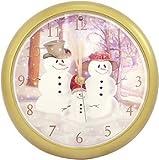 "8"" Christmas Carol Clock"