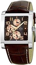 Comprar FESTINA Uni F16235-C - Reloj unisex de cuarzo, correa de piel color marrón