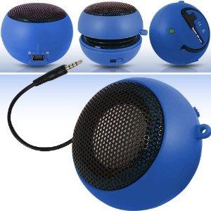 Fone-Case Acer Allegro Mini Capsule Rechargable Loud Speaker 3.5Mm Jack To Jack Input (Blue)
