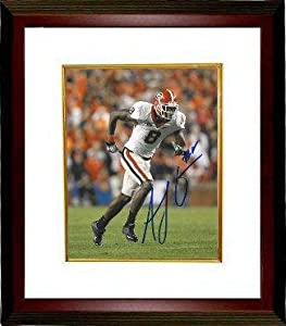 Signed A.J. Green Photo - AJ Georgia Bulldogs 16X20 Custom Framed - Autographed... by Sports+Memorabilia