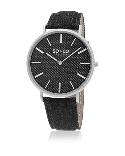 SO & CO New York Orologio al Quarzo Unisex Ultra Slim 41 mm