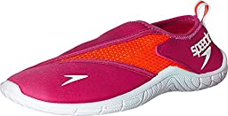 Speedo Women\'s Surfwalker 3.0 Water Shoe, Pink/White, 9 M US