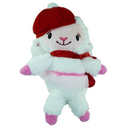 "Disney Doc McStuffins 9"" Plush Holiday ""Lambie"" - 1"