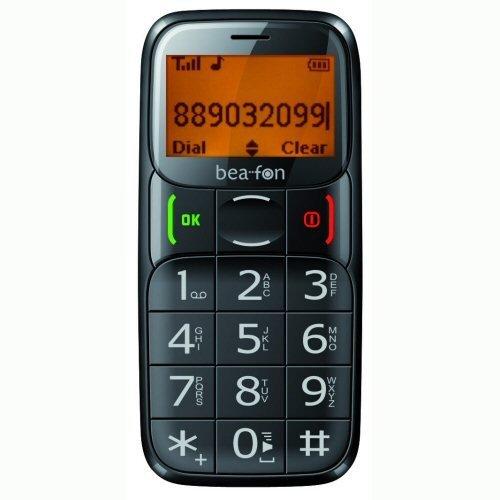 Bea-fon S20 schwarz Handy ohne branding