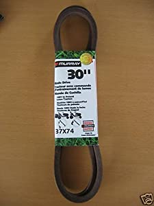 """Murray/Hayter 30"""" Cutter Deck Drive Belt No. 37X74 For Lawn Tractor"""