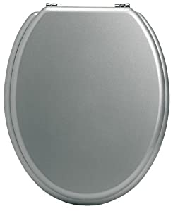 Gelco Design 582844 Abattant WC Galaxie Silver