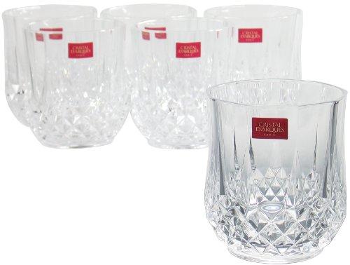Cristal D'arques Diamax Longchamps Crystal Mixer Tumbler, 32cl, Set of 6