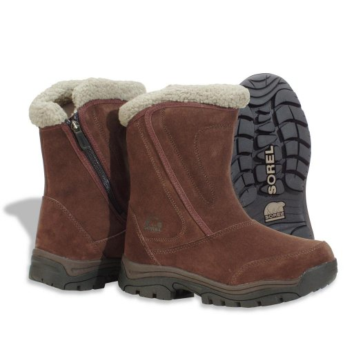 Sorel Women's Waterfall NL1964 Boot,Bruno,5.5 M