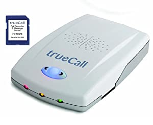 trueCall Blocking Device with 70 Hour Recording Card