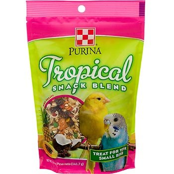 Purina tropical snack blend treats pets bond for Purina tropical fish food