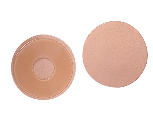 Elady Reusable Pasties Strapless Self Adhesive Silicone Nipple Covers Sexy Invisible Backless Nubra