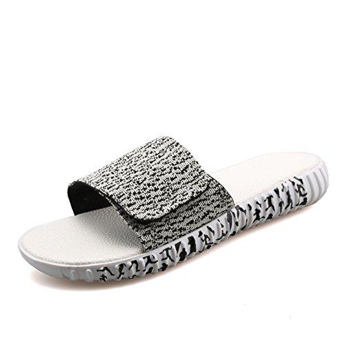 Chaussures de dérapage été clignote/Mode plage pantoufles/Chaussures hommes Casual