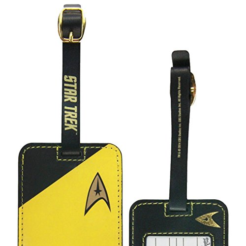 1 X Star Trek Gold Uniform Luggage Tag - 1