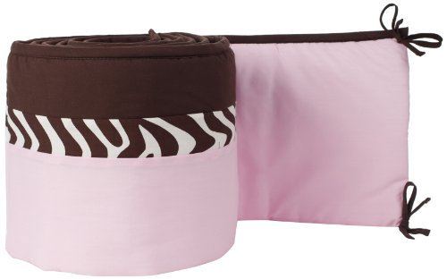 Pam Grace Creations Crib Bumper, Zara Zebra (Crib Bumper Zebra compare prices)