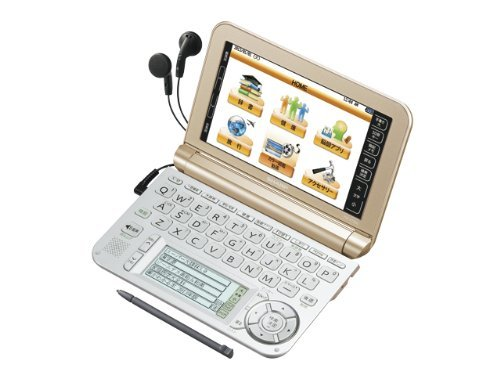 Sharp Pw-A7300-N (Gold) Touch Panel Japanese Electronic Dictionary (Japan Import)