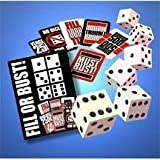 Fill or Bust Great Card and Dice Game by Bowman Games TOY