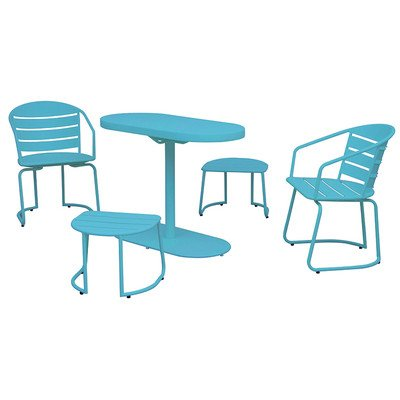 Siena Mybalconia 980960 Twin Set, Stahl, sky blue Stahl/matt sky blue