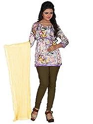 Khushali Prerents Stylish and Versatile Cotton Women's Dupatta(Cream)