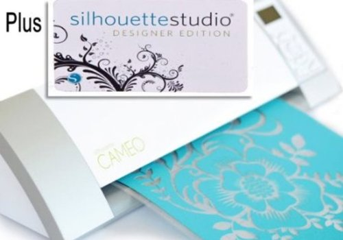 Silhouette CAMEO Electronic Cutting Tool with Silhouette Studio Designer Edition Software