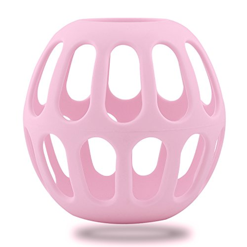 buy Kinps® High temperature resistant & organic material & Anti-drop and Anti-explosion Baby Bottle Holder baby Nursing Bottle Protector (Large, Pink) for sale