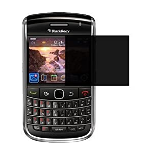 Premium Privacy Screen Protector for Blackberry Bold 9650 [Accessory Export Brand Packaging]