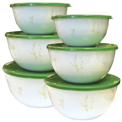 Corelle Coordinates Kobe Storage Bowl Set, 12-Piece