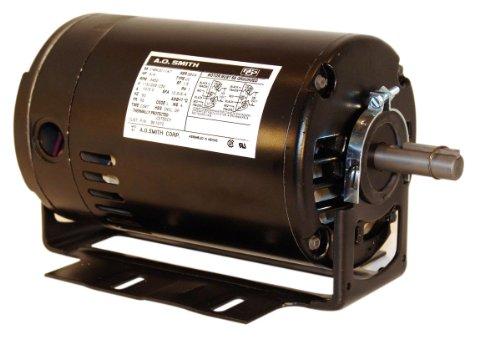 A.O. Smith Bk1102 1 Hp, 3450 Rpm, 115/208-230 Volts, 56 Frame, Odp Enclosure, Ball Bearing Capacitor Start Motor