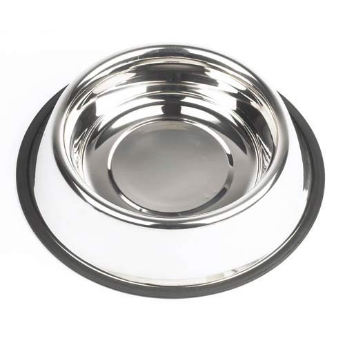 Stainless Steel Pet Bowl - for small dogs (8oz) Pack of 2 (Stainless Steel Bowls Small compare prices)
