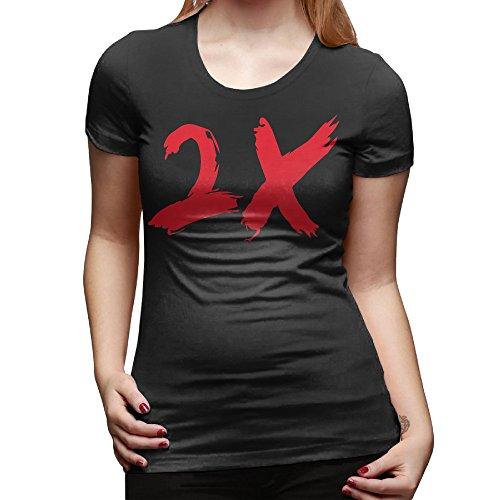 Women OTF Lil Durk Durk 2X Round Neck T Shirts (Lil Durk Otf compare prices)