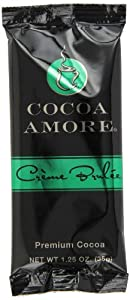 Cocoa Amore Chocolate Cr?me Brulee Single Serve Packets, 1.25-Ounce (Pack of 48)