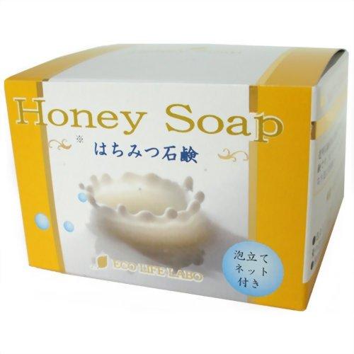 はちみつ石鹸 80g:エコライフラボ