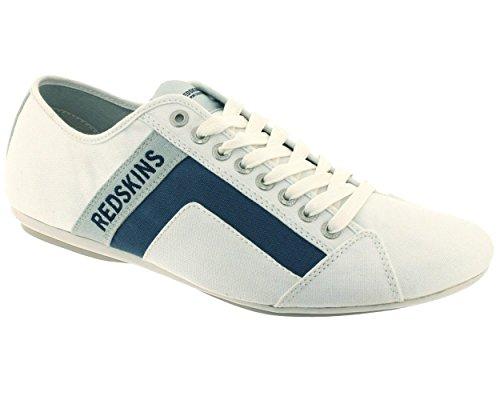 Redskins - Basse Uomo , Bianco (Gris jeans 585), 44