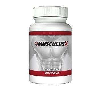 Musculus X fur schnellen Muskelaufbau und mehr Manneskraft (60 Kapseln, 1-Monatspackung)