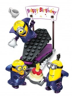 mattel cnf55 megabloks minion movie vampire sur