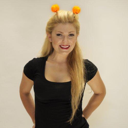 Light Up Pumpkin Head Boppers Headband