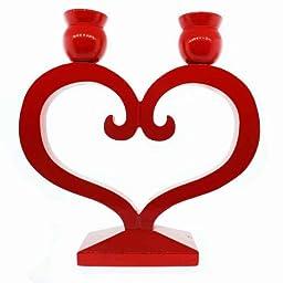 Danish Heart Candleholder - 8\