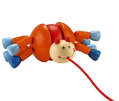 HABA-Webby-Walker-Wooden-Pulling-Animal-with-8-Legs-of-Wobbling-Fun-Classic-Pull-Toy