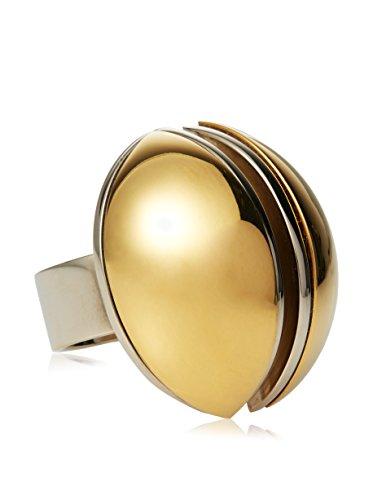 Chloé Ellie Oversized Brass Ring