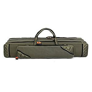 LiteXim Waterproof Fishing Bag Large Capacity Triple Layer Fishing Rod Tackle Bag