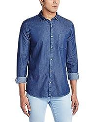 Ruggers Men's Casual Shirt (8907242822501_267797629_Medium_Dark Navy)