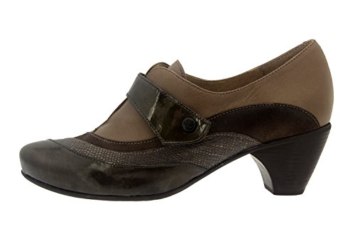 Scarpe donna comfort pelle Piesanto 7406 casual comfort larghezza speciale