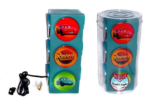 Disney/Pixar Cars Traffic Light Lamp - 1