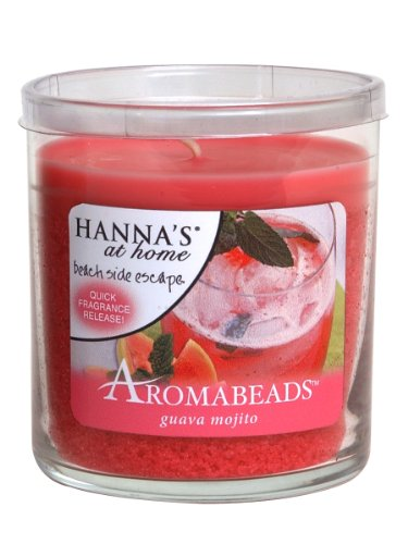 Hanna's At Home AROMABEADS Guava Mojito 5.5oz Candle