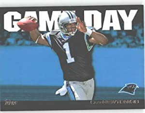 2011 Topps Game Day #GD-CN Cam Newton - Carolina Panthers (Rookie Insert)(Football Cards)