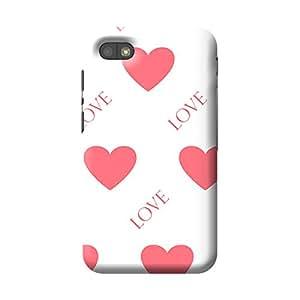 Garmor Heart Shape Design Plastic Back Cover For BlackBerry Q5 (Heart Shape - 5)
