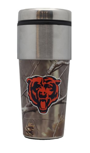 Chicago Bears Realtree Stainless Steel 360 Graphic Coffee Tumbler