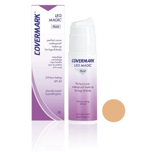 Covermark Leg Magic Fluid Corpo Correttore, Colore 50 - 75 ml