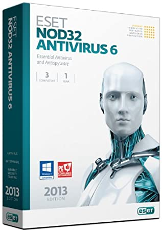 NOD32 Antivirus Version 6 - 3 Users